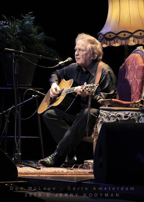 Don McLean, Carre Amsterdam 2010